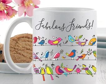 Coffee Mugs   Fabulous Friends Mug   Mugs   Tea Mugs   Gifts for Friends   Mug Gifts
