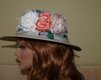 Lovely feminine  Embellished Carriage Hat