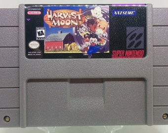 Harvest Moon - SNES Super Nintendo