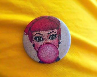Cute bubblegum pin