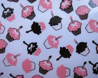 Cupcakes Transfer Sheet