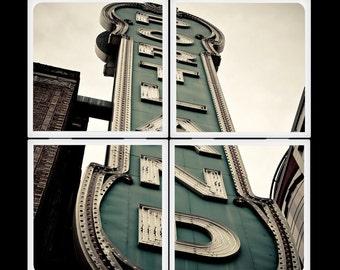 Portland Arlene Schnitzer Concert Hall - Ceramic Coaster Set