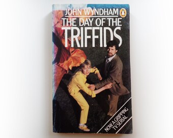 John Wyndham - The Day of the Triffids - Penguin BBC TV science fiction vintage paperback book - 1981