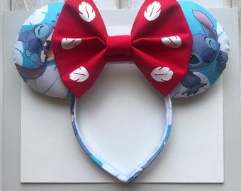Lilo and Stitch Ears. Stich Ears. Mickey Ears. Minnie Ears.