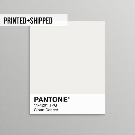 Pantone-Druck Pantone grau Pantone Wandkunst