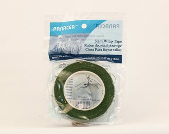 Green Floral Tape Panacea™ Stem Wrap for Bouquets and Brooch Bouquets by Panacea | Floral Supplies Florist Tape TM