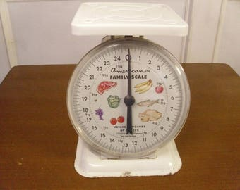 Vintage 1960's/1970's   American Family Kitchen Scale