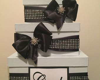 Sparkle Gift Card Box (3 Tier)