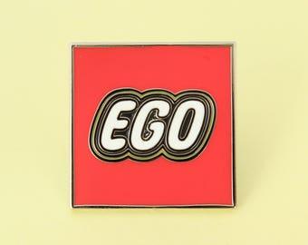 Ego Enamel Pin
