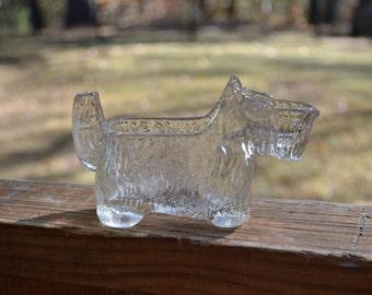 Vintage Glass Scottie Dog Creamer Kitsch Kitchen Decor Pet Lover Gift Panchosporch