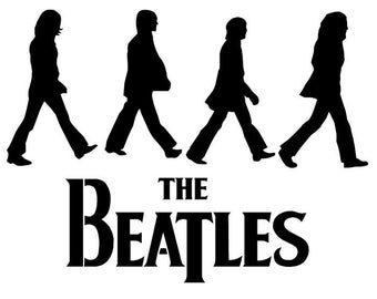 the Beatles (1) Vinyl Sticker
