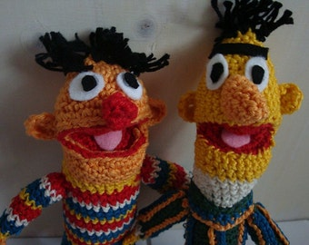 Ernie and bert amogurumi pattern
