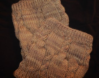 Original Knitting Pattern - Crossings Boot Toppers