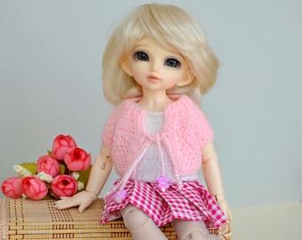 Knitted set for  Littlefee, Yosd, 1/6 Bjd dolls.