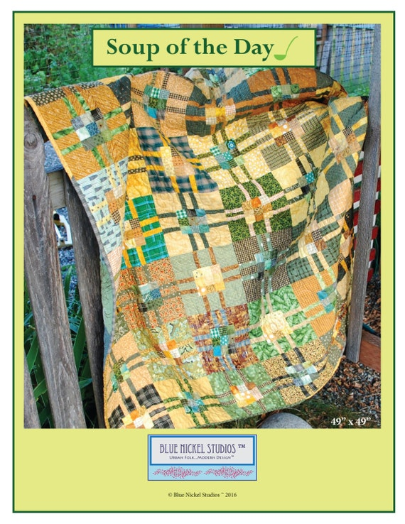 Soup of the Day - An Urban Folk Pattern from Blue Nickel Studios - PDF Download