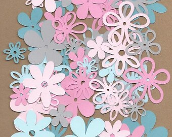 60 asssorted flowers Dreamy color pack cricut die cuts