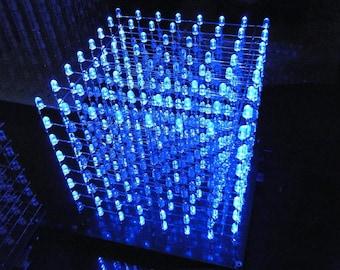8 x 8 x 8 LED Cube