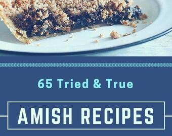 Tried and True Traditional Amish Cookbook Recipes Digital PDF