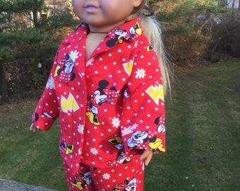 Pajamas for 18 inch dolls