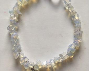 Opaque Blue Star Bracelet