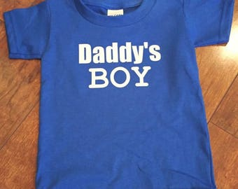 Daddy's Boy Tee Shirt