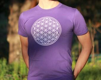 Sacred Flower - Sacred Geometry T-Shirt
