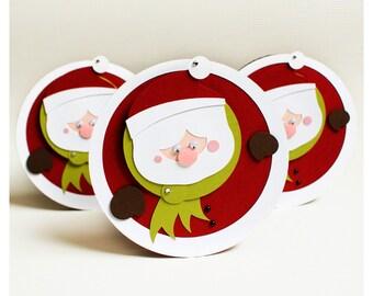 plotterdatei - 'santa claus' christmas card
