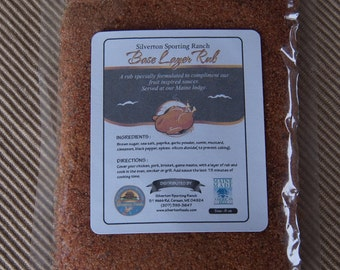 Base Layer Rub for Chicken Pork or Beef