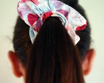 Hair Scrunchies Leaf Detail Hair Scrunchie, Hair Accessories, Elastic Hair Bands, Hair