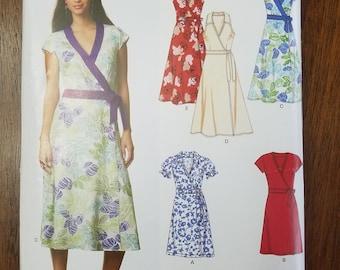 New Look misses wrap dress