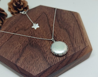 Baroque Pearl Necklace / Coin Pearl Necklace