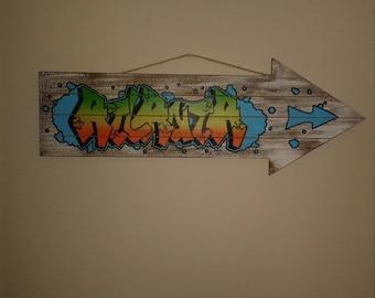 Atlanta Graffitti Sign