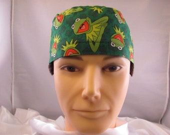 Men's Scrub Hat Kermit