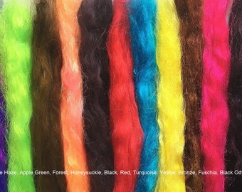 FIRESTAR - (Synthetic Fiber) Hand Dyed Specialty Colors -  FREE shipping within US