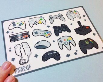 Controller Sticker Sheet