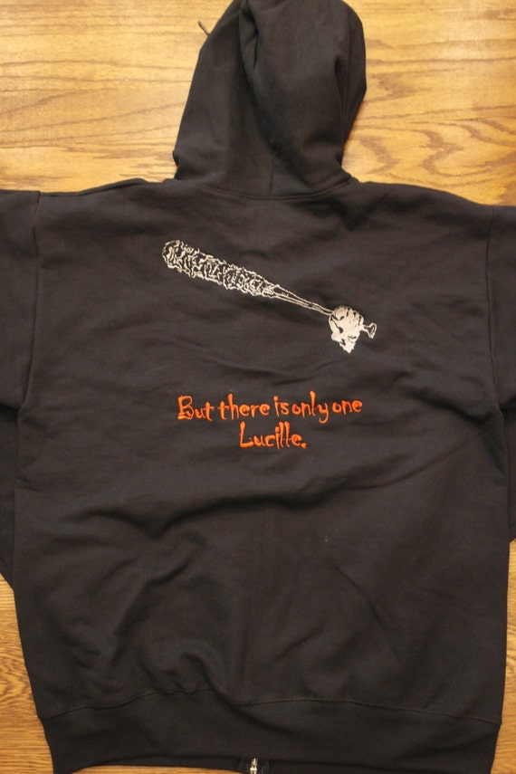 Negan & Lucille Hoodie (embroidered)
