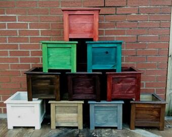 Handmade Wooden Planter Box ~ A1