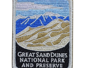 Great Sand Dunes National Park and Preserve Patch - Colorado (Iron on)
