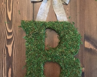 Hanging Moss Letter
