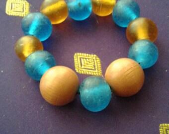 Aromatherapy bracelet inspired by holidays in Greece