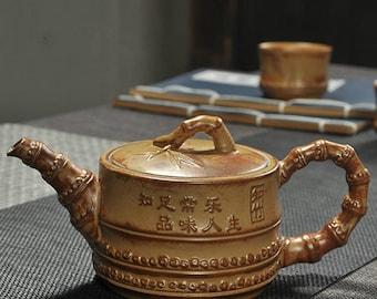 Chinese Ceramic Teapot Pottery Tea Pot China Teapot and Tea Cup Set