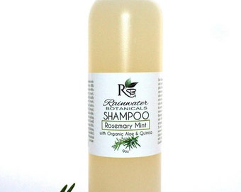 New Shampoo with Organic Quinoa and Aloe