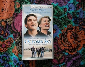 October Sky VHS