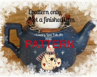 Painting epattern, snowman painting pattern, teapot pattern, tole painting pattern, Christmas painting pattern, sheep pattern, prim pattern
