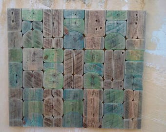 Living room/Wood art/Reclaimend wood/Driftwoods wall hanging/Home living/Luxury gift
