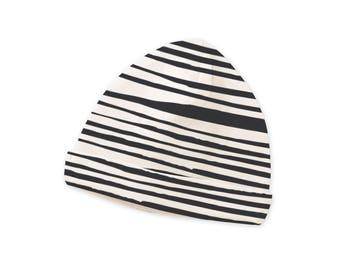 SPRING SALE! Newborn Baby Hat, Newborn Gray Stripe Baby Hat, Baby Hat for Girls, Baby Boy Beanies, Baby Girl Beanies Gray Striped Tesa Babe