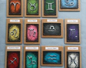 Traditional Zodiac Magnets