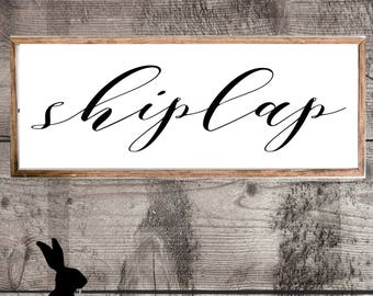 Rustic Farmhouse Printable, Shiplap, DIY Art, Digital Download, Fixer Upper, Country Chic