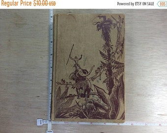 10%OFF3DAYSALE Vintage Jungle Tales Of Tarzan Book By Edgar Rice Burroughs ©1919 Used