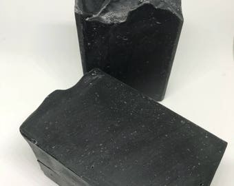 Activated Charcoal & Tea Tree Face Soap, Charcoal Soap, Charcoal Face Soap, Face Soap, Detox Soap, Black Soap, Charcoal Body Soap
